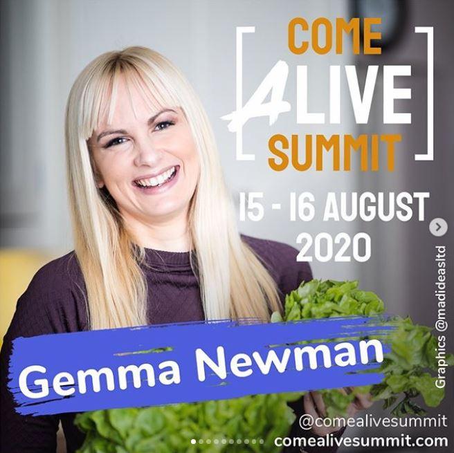 Gemma Newman Come Alive Summit